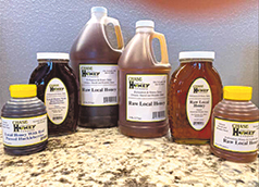 LOCAL RAW HONEY IN 1 LB. TO 4 GALLON QUANTITIES AT CHASE HONEY IS SO GOOD!