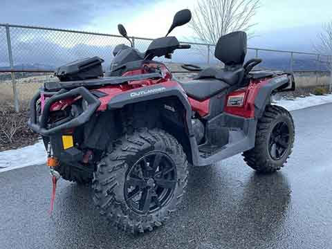 2019 CAN-AM OUTLANDER MAX XT 850 $10,499