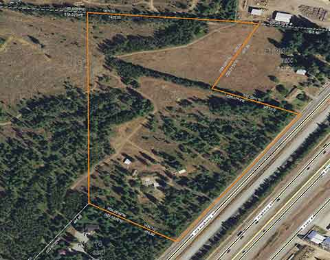 20 ACRE PARCEL, FRONTS PAVED OLD HWY 95 IN RATHDRUM