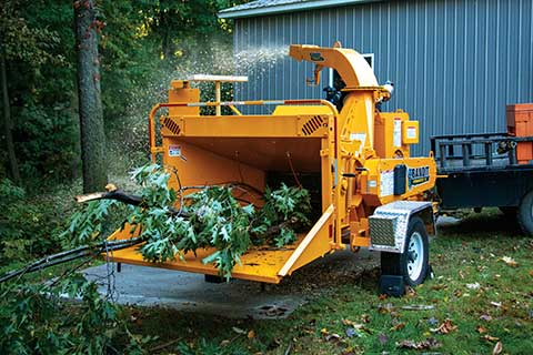 RENT A WOOD CHIPPER