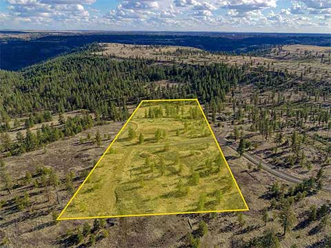 DAVENPORT, WA: HAWK CREEK RANCH 10 ACRES FOR SALE